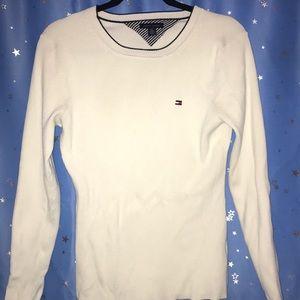 T Hilfiger form-fitting sweater szMed EUC